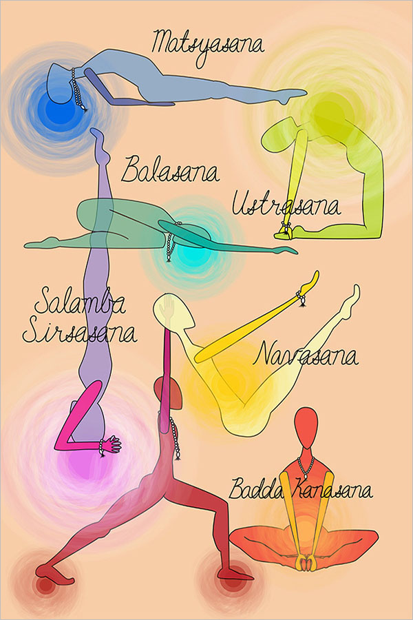 Yoga Exercise Poster Design