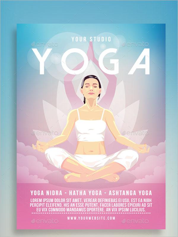 Yoga Flyer Poster Design