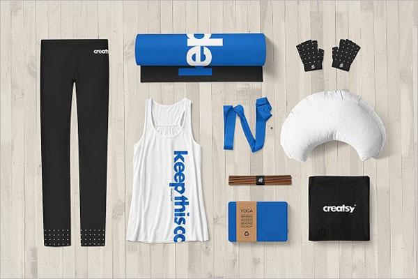 Yoga Identity Mockup Design