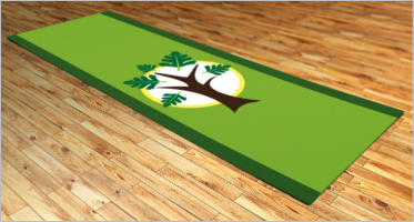 Yoga Mat Mockup Designs