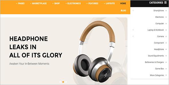 eCommerce Marketplace OpenCart Theme