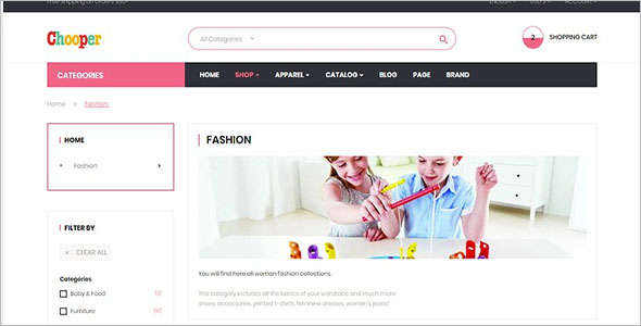 kids Collections Prestashop 1.7 Theme