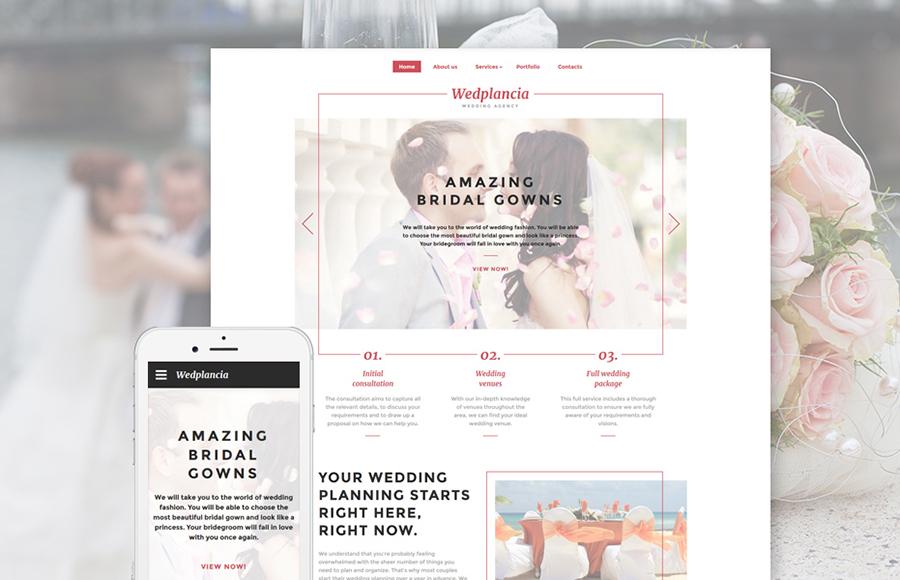 Wedding Web Template