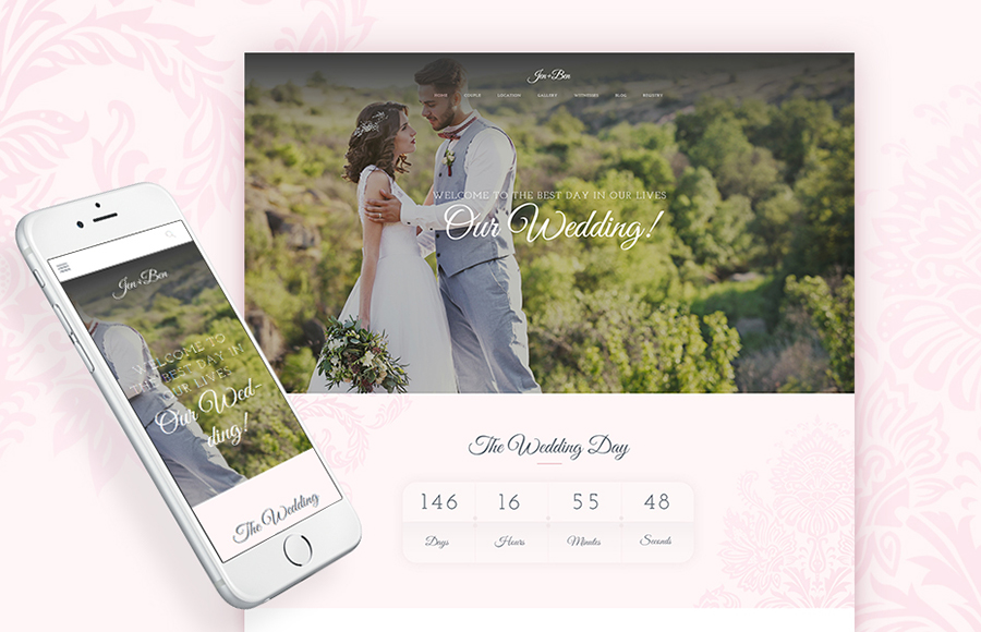 Wedding WP Theme