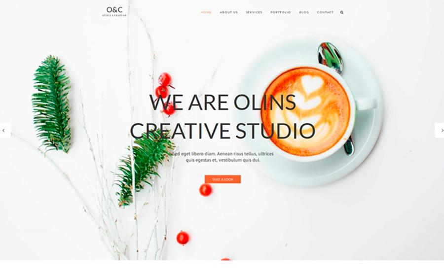 Olins Multi Niche WordPress Theme