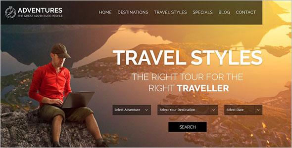 Adventure & Tour WordPress WordPress Theme