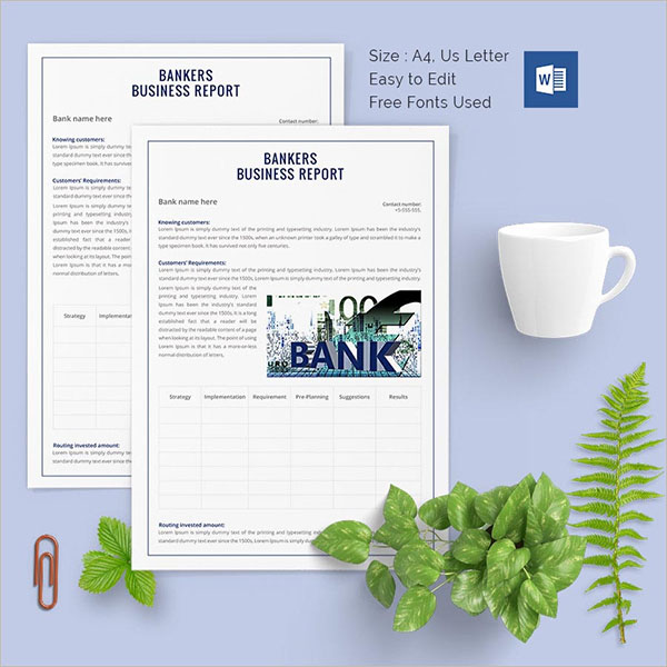 Agriculture Business Report Template