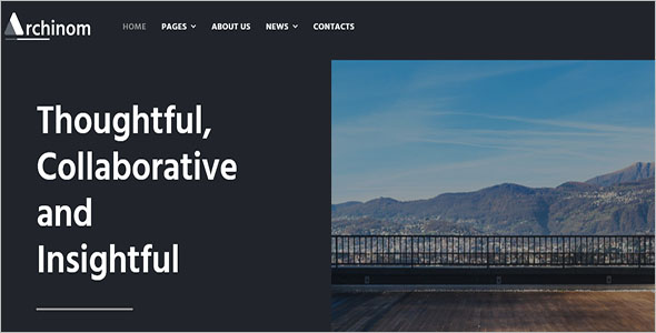 Architect Elementor WordPress Theme