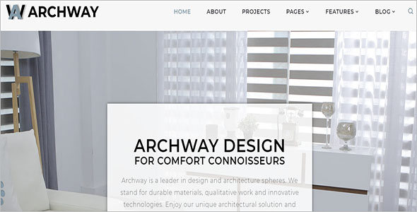 Architecture Agency WordPress Theme