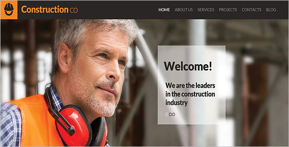 Architecture Construction WordPress Theme