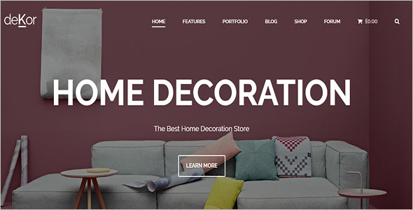 Architecture Interior WordPress Theme