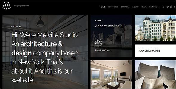 Architecture Portfolio Theme