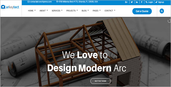 Architecture Website Templates For Free Download