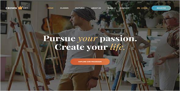 Art School WordPress Theme