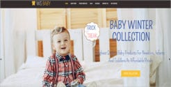 Baby Shop Online Store Theme