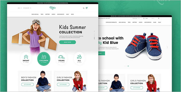 Baby Shop Store Theme