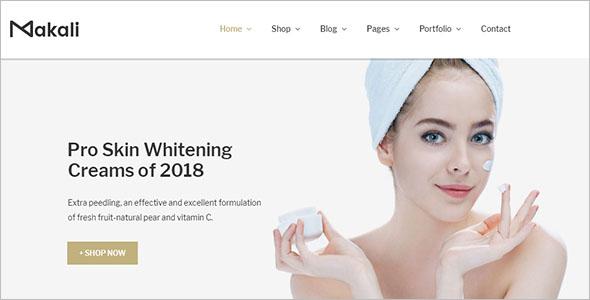 Beauty Cosmetics Woocommerce Theme