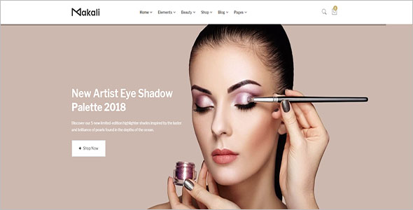 Beauty eCommerce Bootstrap Template