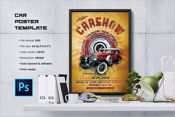 Best Car Show Flyer Templates