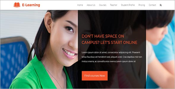 Best E Learning Html Template