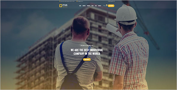 Best Engineering HTML Template