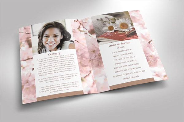 Best Funeral Booklet Templates