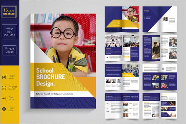 Best Kids Brochure Template