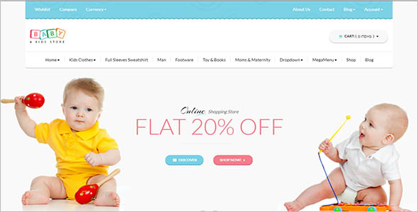 Best Kids Store E-commerce Theme