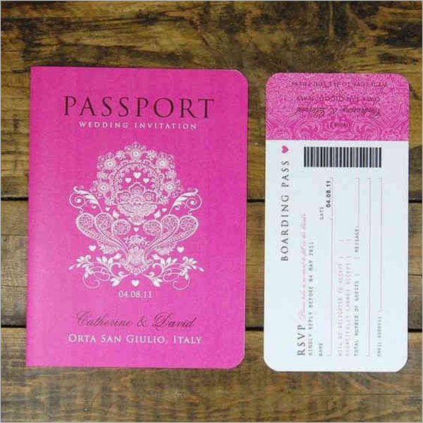 Best Printable Passport Templates