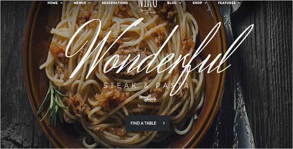 Best Restaurant Woocommerce Theme