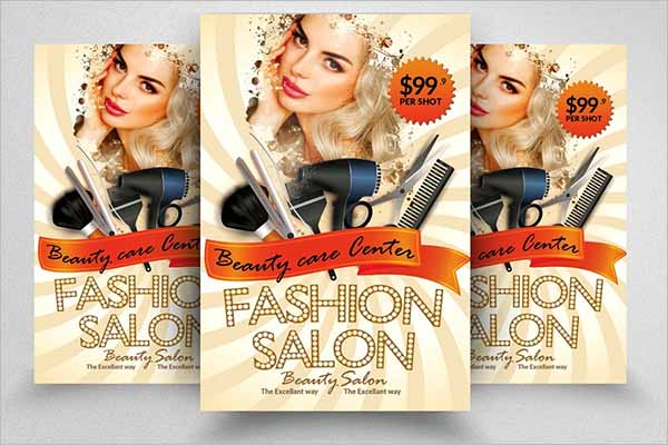 Best Salon Brochure Template