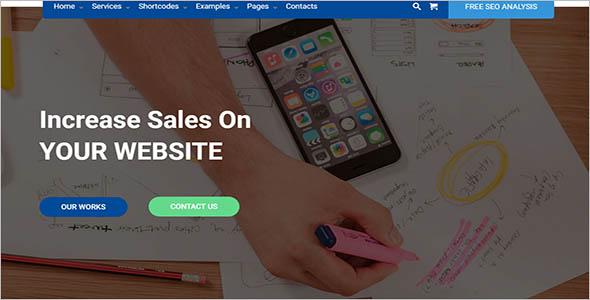 Best Seo Company WordPress Theme