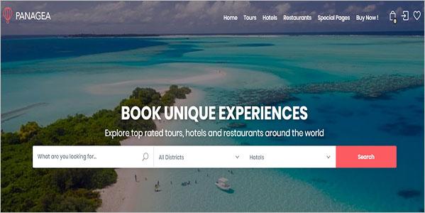 Best Tour WordPress Theme