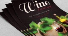 31+Best Wine Flyer Designs