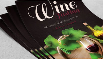 Best Wine Flyer Designs