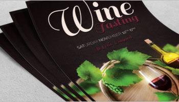 Best Wine Flyer Designs