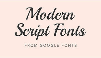 Best modern fonts Design