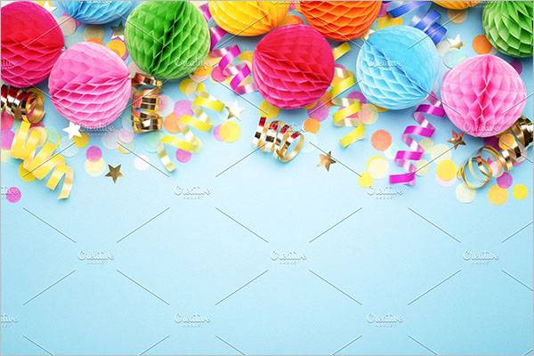 Birthday Party Flyer Backgrounds