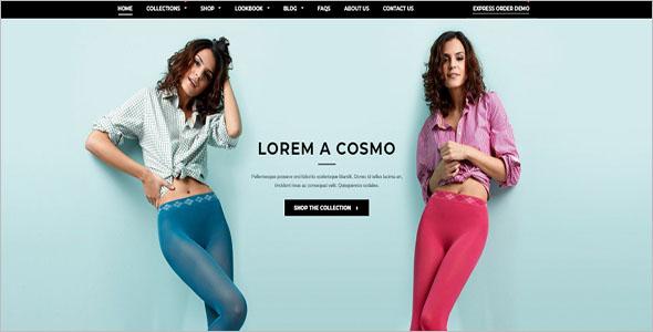 Boutique Shopify Website Template