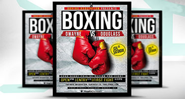 Boxing Flyer Designs