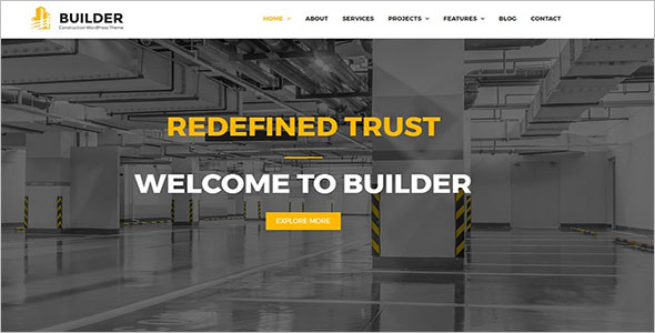 Builder Construction WordPress Theme