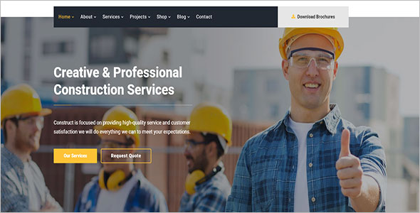 Building Company HTML Template