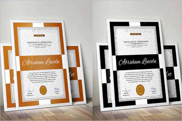 Certificate Design Bundle
