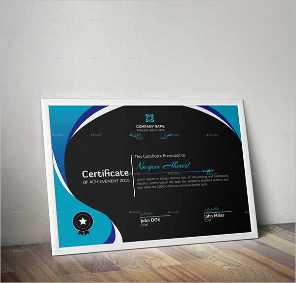 Certificate Design Illustrator