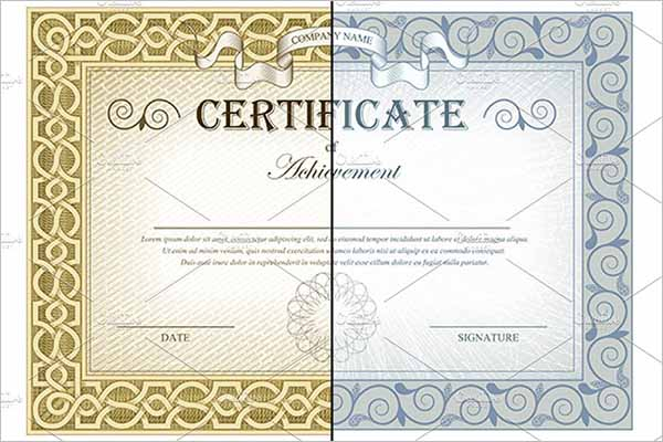 Certificates Elements Design