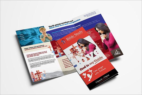 Church Brochure Template Free