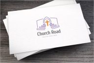 Church Business Card Design Inispiration