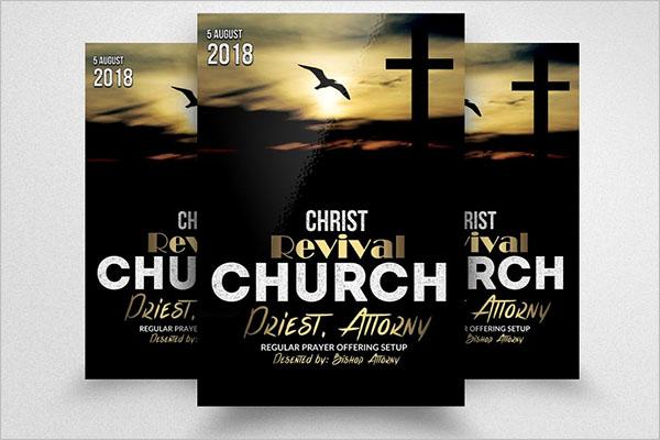 Church Revival Psd Template