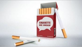 Cigarette Package Mockup