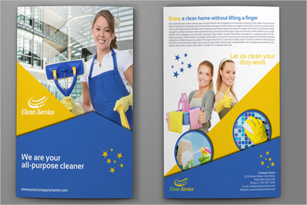 Cleaning Company Brochure Ideas